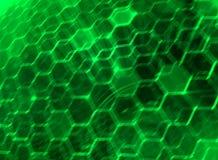 DNA-Schroef Moleculaire Achtergrond Stock Illustratie