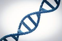 DNA-schroef of DNA-structuur Stock Fotografie