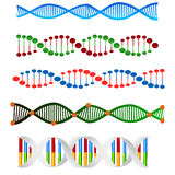 DNA collection Stock Image
