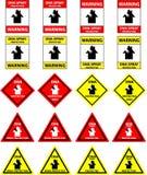 dna-skydd undertecknar spray Royaltyfri Fotografi