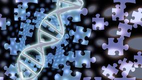 DNA Solutions Stock Photo
