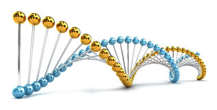 DNA Spiral Royalty Free Stock Photos