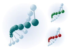 DNA spiral Stock Photography