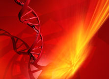 dna-spiral stock illustrationer