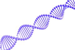 Dna spiral Royalty Free Stock Photo