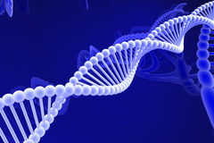 Dna spiral Stock Photo