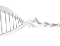 DNA spirala royalty ilustracja