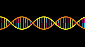 DNA Strand stock footage