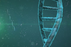 DNA Strand Background Stock Photography