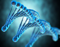 Dna string Royalty Free Stock Photography