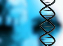 Dna structure Royalty Free Stock Image