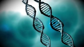 DNA structure stock video footage