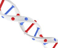 DNA Structure Made Of Glass Royalty Free Stock Photo
