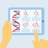 DNA structure Stock Photography