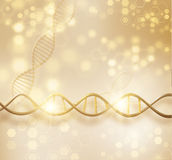 DNA structure vector background. Vector EPS10 Stock Image