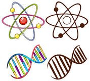 DNA structures Royalty Free Stock Photos