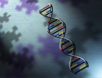 DNA TECHNOLOGY Royalty Free Stock Photography