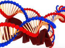 DNA tehnology Stockfoto