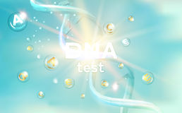 The DNA Test. Royalty Free Stock Photo