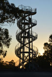 DNA tower in Perth. DNA tower in Kings Park, Perth, Australia royalty free stock photo