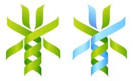 DNA Tree Icon royalty free illustration