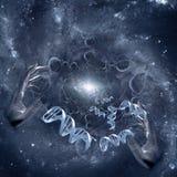 DNA twórca royalty ilustracja