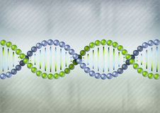 DNA two color Royalty Free Stock Images