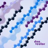 DNA vector. Background Royalty Free Stock Images