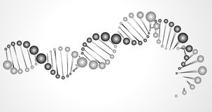 DNA Vector Background Royalty Free Stock Image