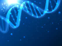 DNA vector medical background Stock Images
