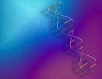 DNA y código binario Imagenes de archivo