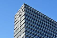 DnB NORD银行,维尔纽斯办公室 免版税库存照片