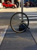 ¿Dónde ` s mi bicicleta? Foto de archivo libre de regalías