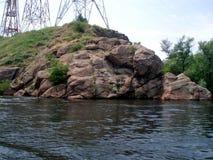 Dnepr ποταμός Ουκρανία, Ñ€ÐΜка Ð'Ð ½ ÐΜÐ ¿ Ñ€ στοκ εικόνες