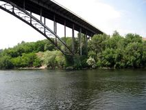 Dnepr ποταμός Ουκρανία στοκ εικόνες με δικαίωμα ελεύθερης χρήσης