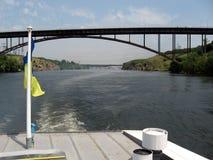 Dnepr ποταμός Ουκρανία στοκ φωτογραφίες