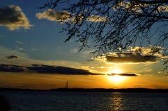 Dnepr ποταμός Στοκ φωτογραφίες με δικαίωμα ελεύθερης χρήσης