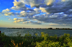 Dnepr ποταμός στοκ εικόνα με δικαίωμα ελεύθερης χρήσης