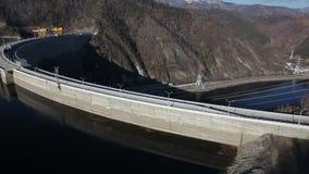 dnepr σταθμός Ουκρανία ποταμών υδροηλεκτρικής ισχύος zaporozhye απόθεμα βίντεο