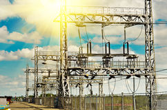 dnepr σταθμός Ουκρανία ποταμών υδροηλεκτρικής ισχύος zaporozhye Στοκ φωτογραφία με δικαίωμα ελεύθερης χρήσης