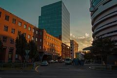 Dnepr πόλη στοκ εικόνα με δικαίωμα ελεύθερης χρήσης