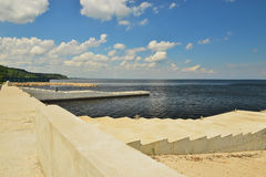 Dnepr embankment Stock Images