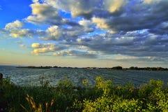 Dnepr flod Royaltyfri Bild