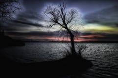 Dnepr flod Arkivfoto