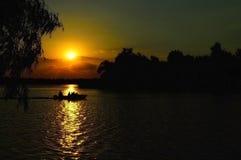 Dnepr flod Royaltyfria Foton