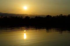 Dnepr-Fluss Stockfoto