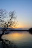 Dnepr-Fluss Lizenzfreie Stockfotografie