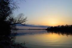 Dnepr-Fluss Stockbild