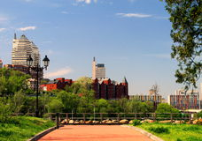 Dnepropetrovsk, Ουκρανία, άποψη της πόλης στοκ φωτογραφία με δικαίωμα ελεύθερης χρήσης