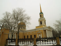 Dnepropetrovsk. Church of the Transfiguration of Christ in Dnepropetrovsk Stock Photos